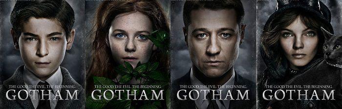 """Постер из сериала """"Готэм"""""""