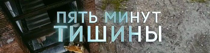 """Постер сериала """"Пять минут тишины"""""""