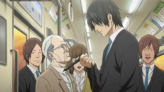 """Кадр из аниме """"Инуясики"""""""