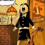 Кадр из комикса Академия Амбрелла
