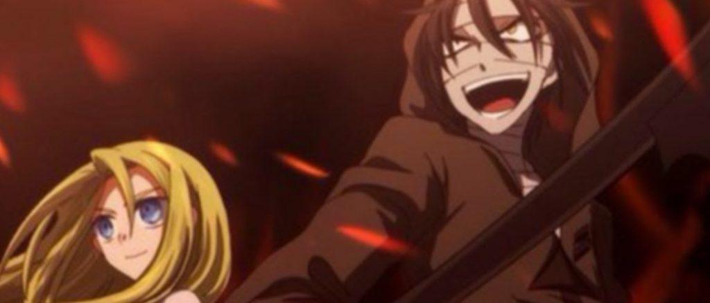 Кадр из аниме Ангел кровопролития