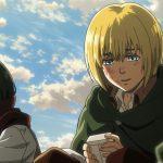 Кадр из аниме Атака титанов 4 сезон
