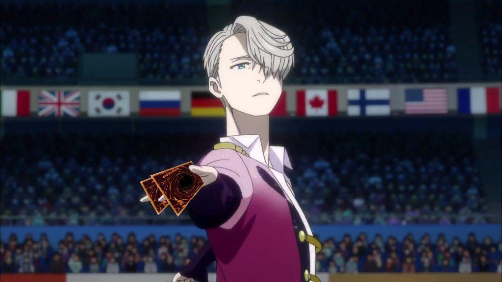 Кадр из аниме Юрий на льду