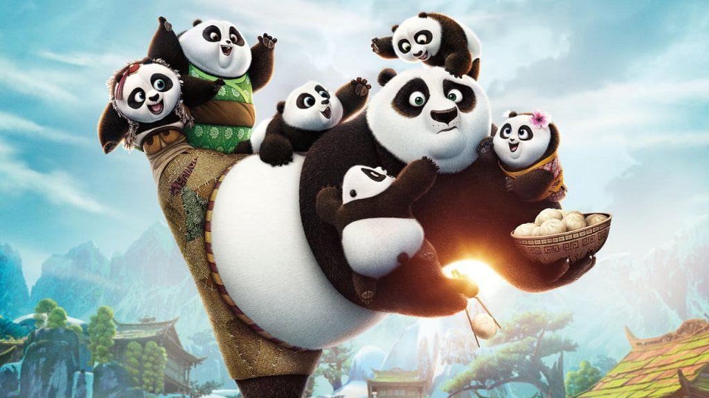Кадр из мультфильма Кунг фу Панда