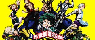 Моя геройская академия 3 сезон: даты выхода всех серий, смотреть трейлер аниме
