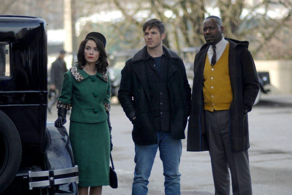 Кадр из сериала Вне времени 2 сезон