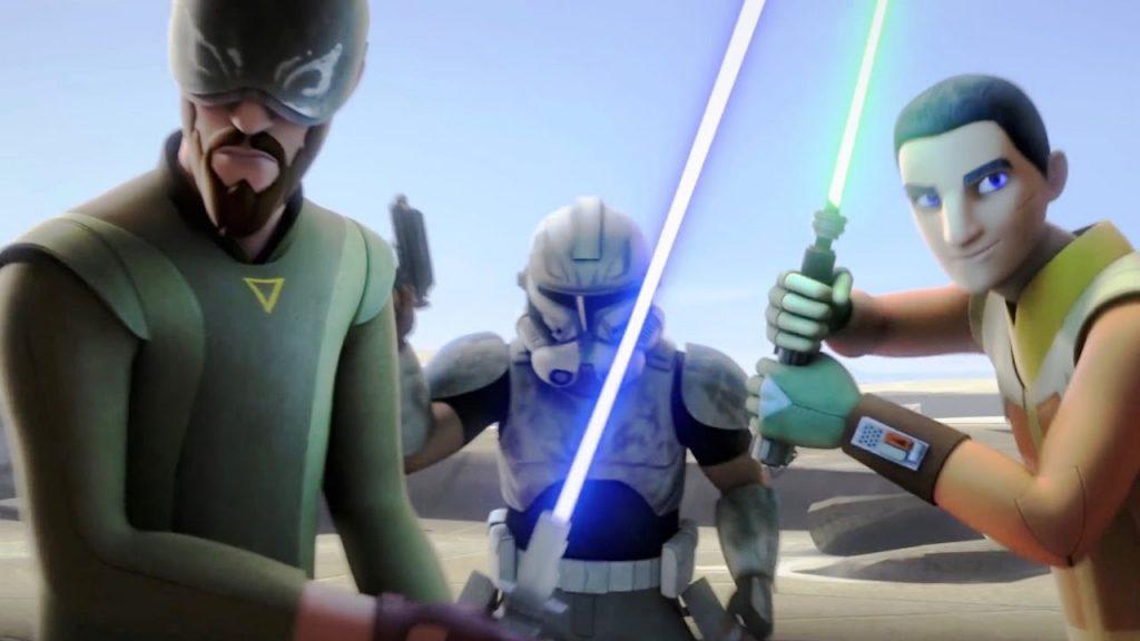 Кадр из мультсериала Звездные войны Повстанцы 5 сезон