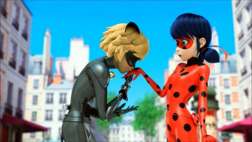 Кадр из мультсериала Леди Баг и Супер Кот