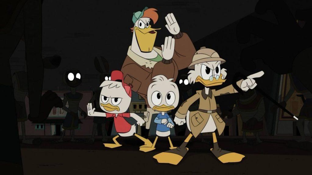 Кадр из мультсериала Утиные истории