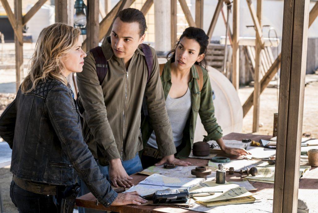 Кадр из сериала Бойся ходячих мертвецов 4 сезон