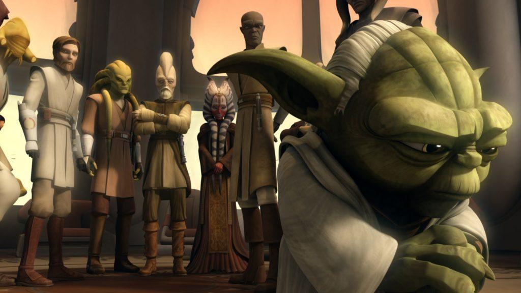 Кадр из мультсериала Войны клонов