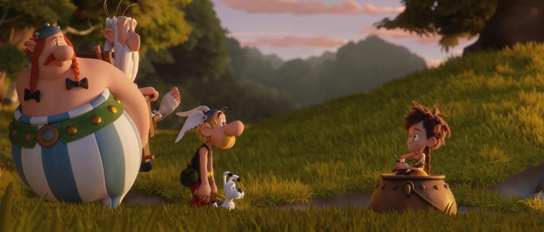 кадр из мультфильма Астерикс и тайное зелье