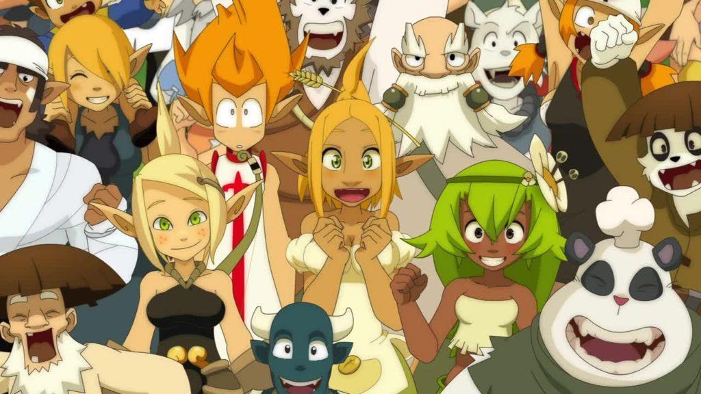 кадр из аниме Вакфу