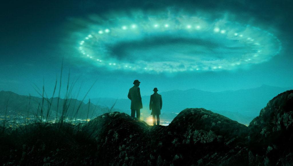 кадр из сериала Проект Синяя книга